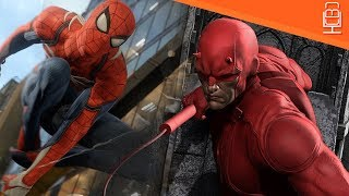 Daredevil appearance in Spider-Man PS4