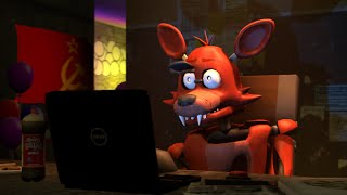 [SFM] Foxy Reacts To: Five Nights at Freddy