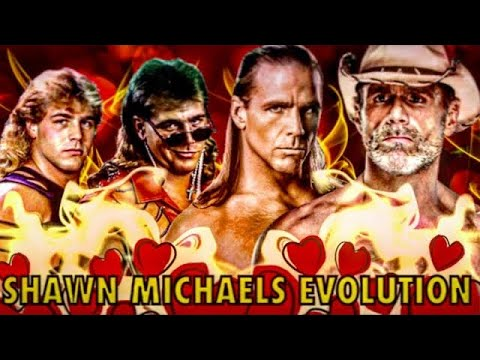 THE EVOLUTION OF SHAWN MICHAELS TO 1988-2020