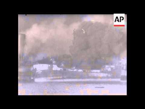Bari Bombed