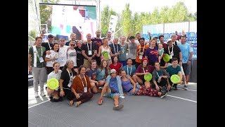Frisbee in Hungary - World Urban Games 2019