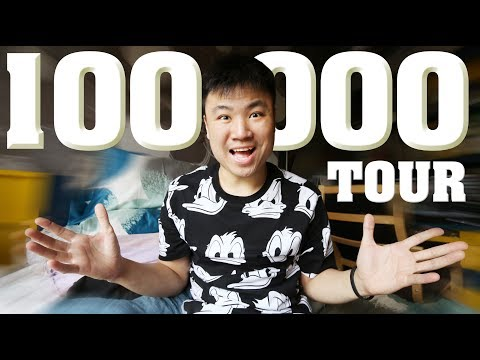 #HANSTOUR - SPECIAL 100.000 SUBSCRIBERS : ROOM TO ROOM TOUR !!
