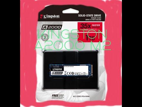 Kingston A2000 1TB NVMe M.2 2280 PCIe 3.0 x4 3D NAND TLC (SA2000M8/1000G)