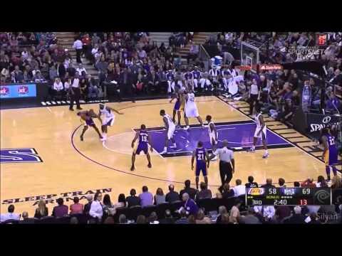 [HD] Kobe Bryant 38 Points @ Sacramento Kings - Highlights 21/11/2012