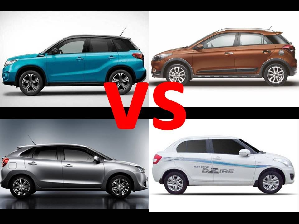 Suzuki Swift Sport Comparison