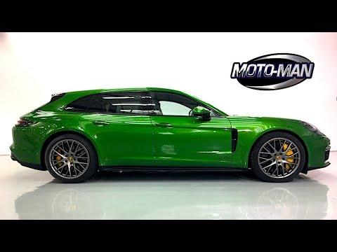 The value Turbo V8! 2019 Porsche Panamera GTS & Panamera Sport Turismo GTS TECH REVIEW (1 of 2)