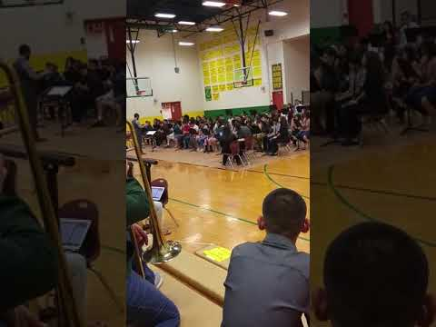 The concert in somerton middle school