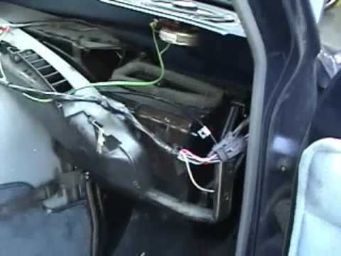 fuse box location 1978 ford 150 1987 chevy g van heater core replacement youtube  1987 chevy g van heater core replacement youtube