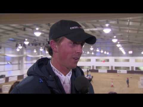 Showjumping -  Interview with  Ben Maher MBE