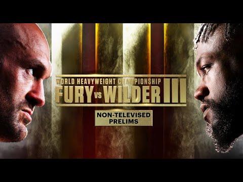 Download Tyson Fury vs Deontay Wilder III: Non-Televised Prelims | PBC ON FOX