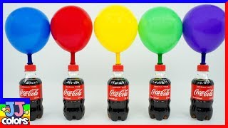 5 Bottles Balloons With Beads And Balls Paw Patrol Surprise Learn Colors [Jj Colors]
