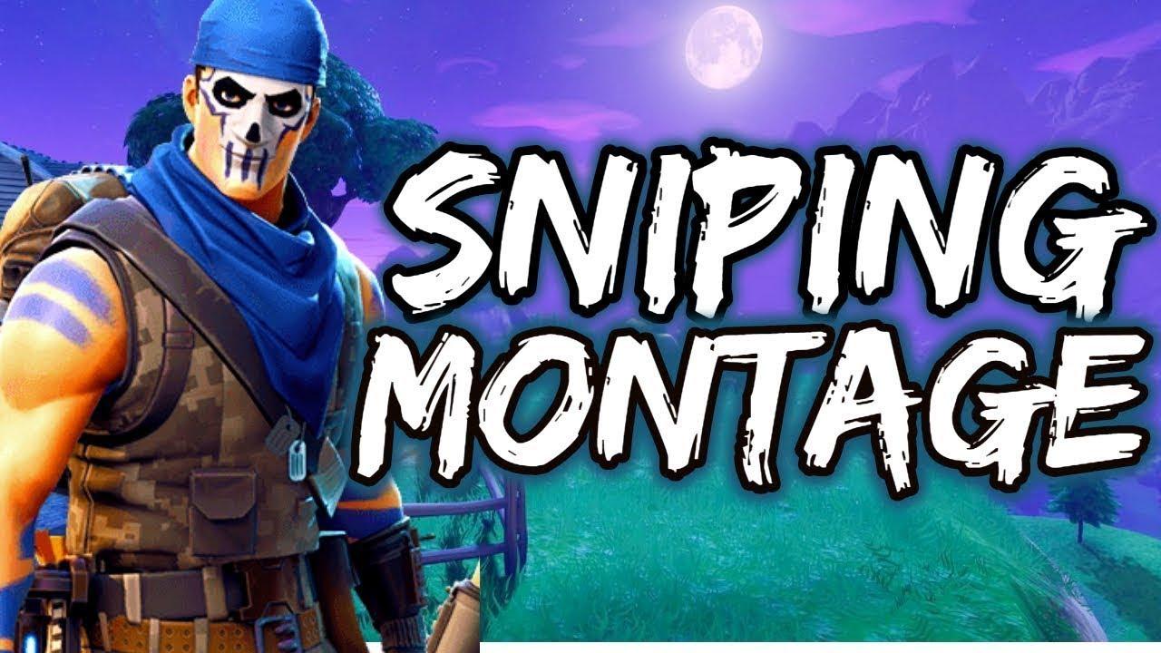Fortnite Sniper Montage Thumbnail Vbucks Fortnite Free Vbucks