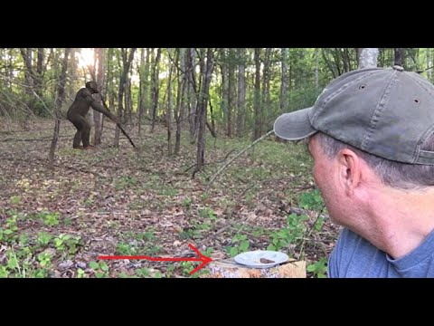 He Takes The World's Best Bigfoot Sasquatch Bait Ever Into The Woods And It's DEVOURED In Minutes!