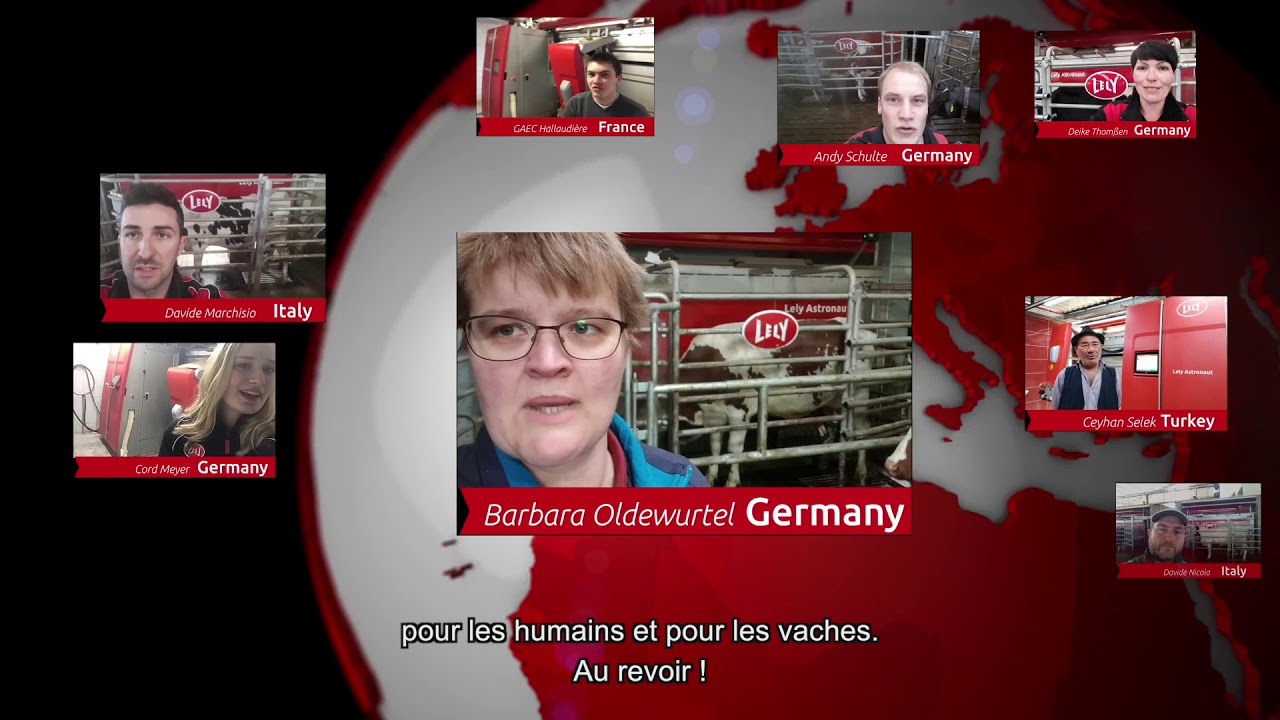 Lely Astronaut A5 – 1 an d'expérience – video 4 (FR)