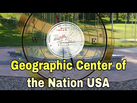 The Geographic Center Of The Nation Of The United States Of America. Belle Fourche,South Dakota.