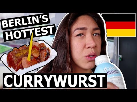 BERLIN!  (Spicy Currywurst Challenge + East Side Gallery + M