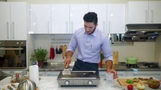 瑞士Solis專業鐵板燒機-清洗影片