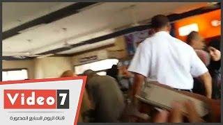 بالفيديو..عودة حركة الخط الأول للمترو بعد سحب قطار محطة كوبرى القبة