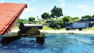 BeamNG.drive - Boats, Cannons, Buoyancy & More (60FPS HD)