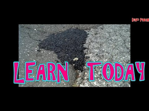 Repair Driveway Pothole with Cold Patch!