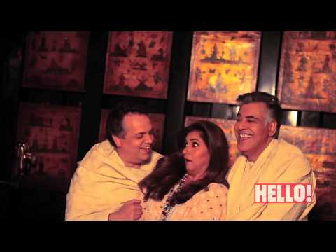 Behind The Scenes With Dimple Kapadia and Abu-Sandeep for HELLO! April