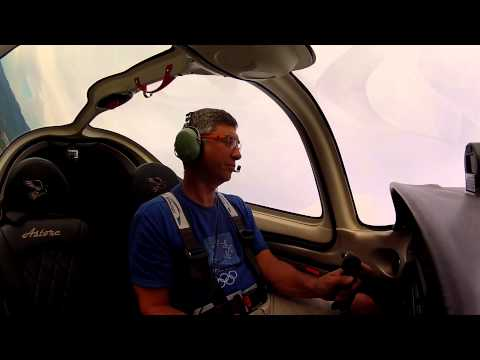 Flying experience with my new Tecnam Astore July 2014