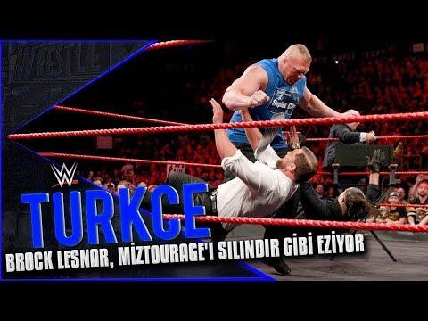 RAW Türkçe Altyazı | Brock Lesnar Silindir Gibi Eziyor