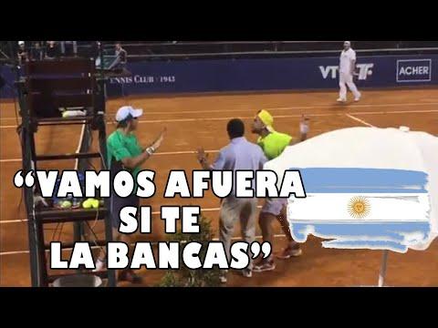 PELEAS de TENISTAS ARGENTINOS