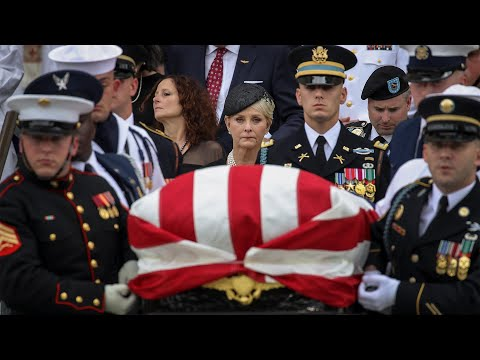 Senator John McCain Is Laid To Rest In An Emotional Service | NBC News