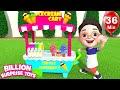 Chiya's Ice cream shop   Kids Stories + More Nursery Rhymes & Kids Songs - BillionSurpriseToys