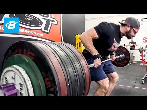 5 Exercises to Build a 900lbs Deadlift | Cailer Woolam