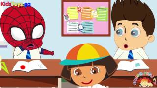 Lego channel - Spiderman Baby Stealing Candy in the Supermarket New Episodes! Finger Family Songs N