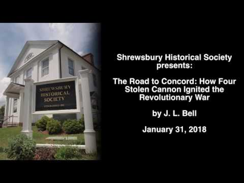The Road to Concord: How Four Stolen Cannon Ignited the Revolutionary War