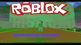 How Morph Magic was created on ROBLOX