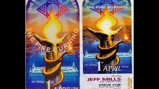 JEFF MILLS @ The Rave Explosion @ Keeps The Fire Burning @ Cherry Moon (Lokeren):01-04-1994