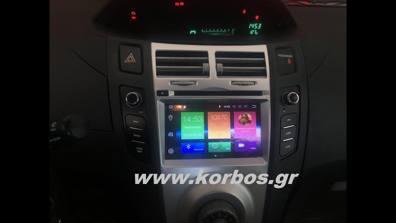 Toyota Yaris-Andorid Multimedia 8 Core 8 / Ram 4Gb www.korbos.gr