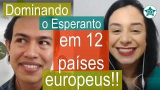 Dominando o Esperanto viajando pela Europa! #19 Conversa com Tamiris Queiroz | Esperanto do ZERO!