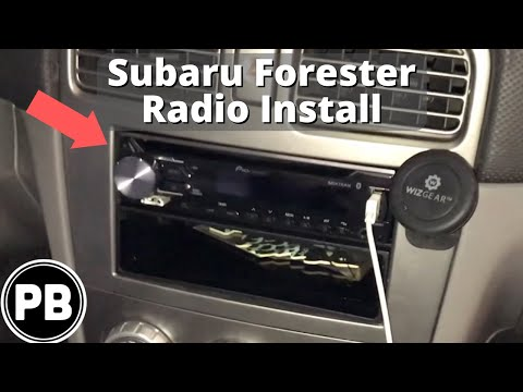 2003 - 2008 Subaru Forester Bluetooth Radio Install | DEH-X3900BT
