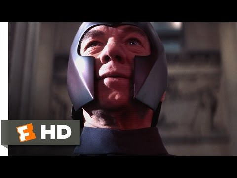X-Men (3/5) Movie CLIP - Mind Over Metal (2000) HD
