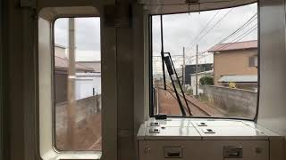 【名鉄MH】ラスト撮影に… 1703F伊奈駅通過ミュージックホーン
