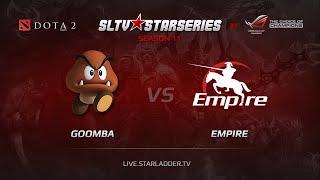Goomba vs Empire, SLTV Europe Season 11, Day 10