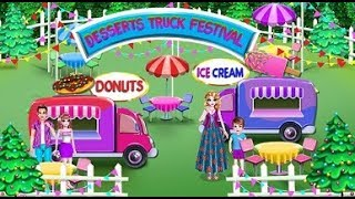 Colorful Learning Game – Food and Ice Cream Color Street Trucks Festival, Children & Toddlers Videos