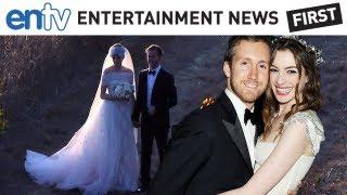 Anne Hathaway Gets Married To Adam Shulman! ENTV