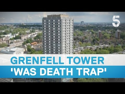 Grenfell Tower cladding 'more flammable than a match to petrol' - 5 News