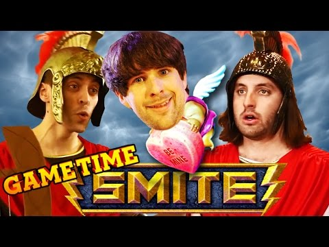 BABY CUPID GETS SMITE'D (Gametime w/ Smosh Games)