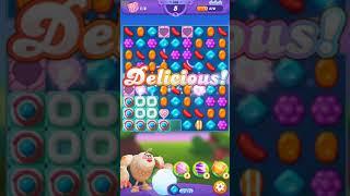 Candy Crush FRIENDS Saga level 166 no boosters