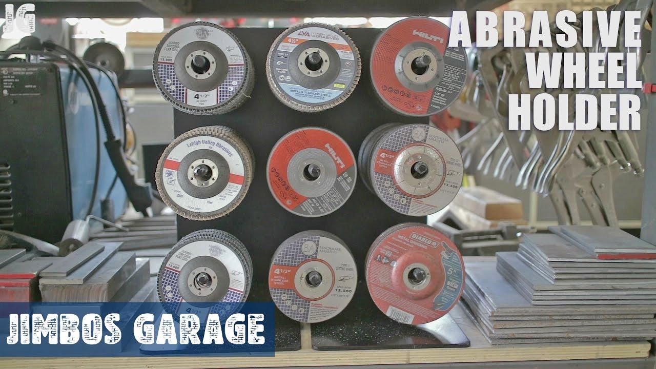 Metal Abrasive Wheel Holder Jimbos Garage Youtube