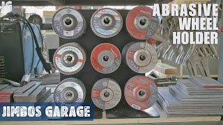 Metal Abrasive Wheel Holder - JIMBOS GARAGE