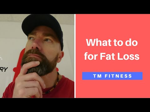 Energy Balance Equation for Fat Loss