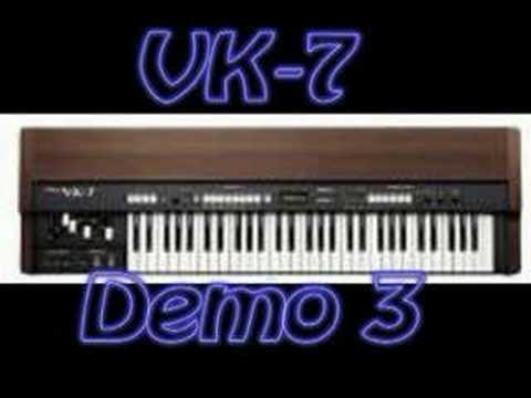 Roland VK-7 Demo songs
